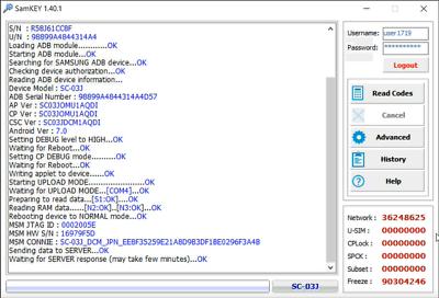 Samsung Galaxy J3 SM-J330FN UNLOCK { VIA USB CABLE INSTANT } | eBay