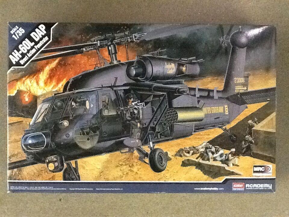 ACADEMY 1 35 AH-60L DAP DIRECT ACTION PENETRATOR   FACTORY SEALED