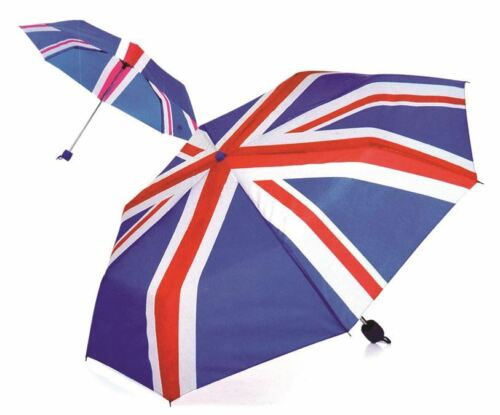 Mini Portable faltbar Union Jack Britisch Flag umbnrella super kompakt
