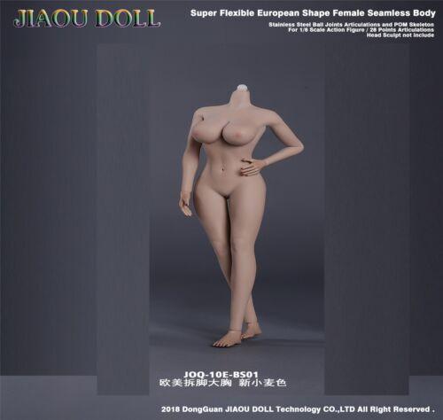 JIAOU DOLL 1//6 European Female Big Bust Body Acion Figure Dismantle Foot Model