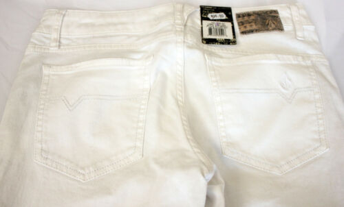 Stix B1911253 Volcom Femme Cod Donna Skinny Pantaloni Pantalon Bianchi White TOEgqgw