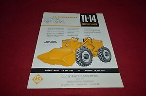 Fiat Allis FR9B Wheel Loader Dealer/'s Brochure DCPA6 Ver2