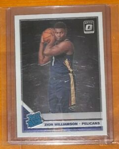Zion-Williamson-2019-20-Donruss-Optic-Rc-158-New-Orleans-Pelicans-PSA-READY