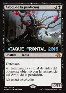 MTG-ARBOL-DE-LA-PERDICIoN-Tree-of-Perdition-Luna-de-Horrores-ESPANOL-NM