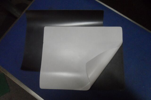 2 x A4  size Flexible Rubber Self Adhesive Magnet Sheet 300 MM X 214 MM X .4 MM