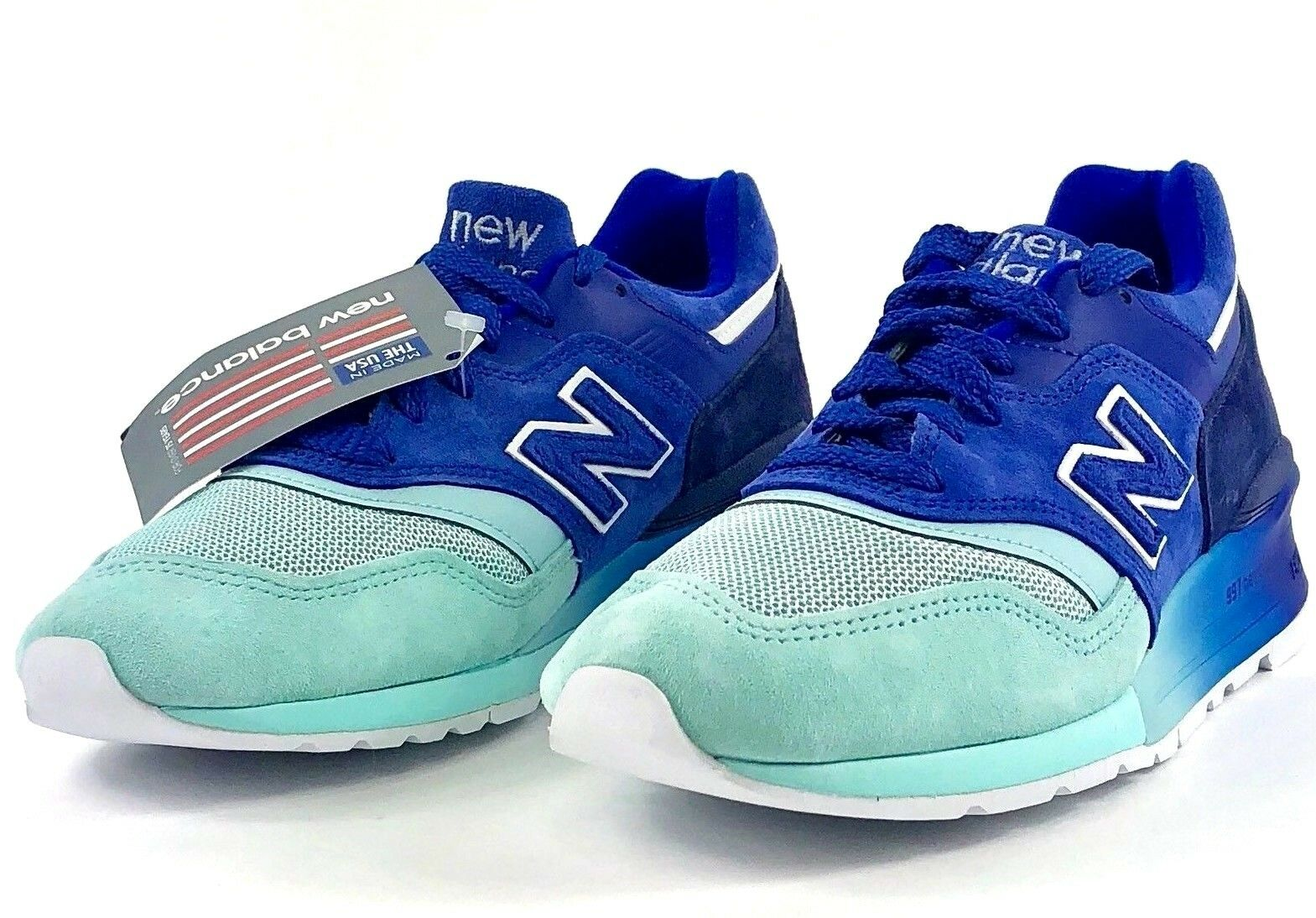 New Balance 997 Made in USA Home Plate Pack bluee Turquoise M997NSB Sz