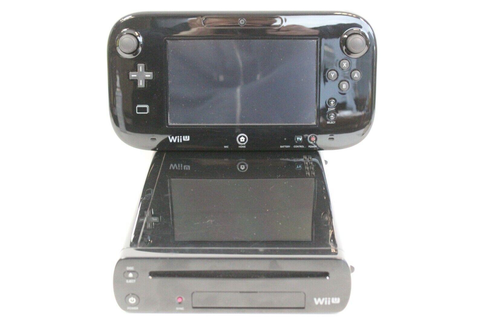videogiochi e console: Nintendo Wii U 32GB Black Console PAL UK