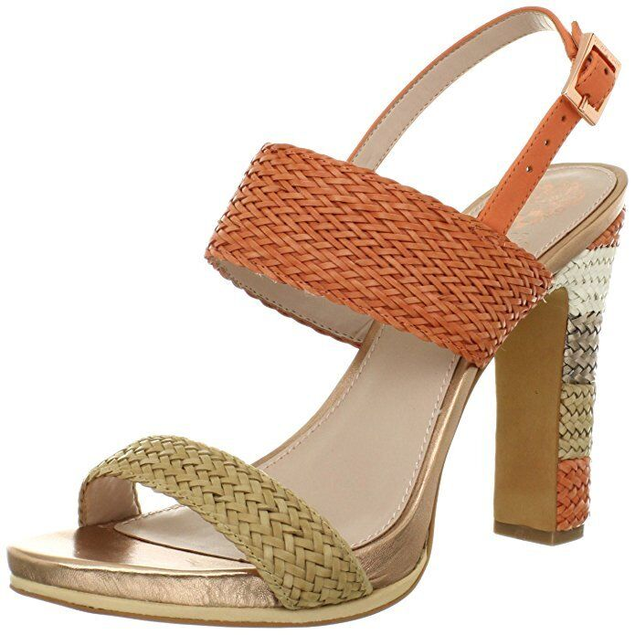 Felice shopping Vince Camuto ADRIEN Coral Leather Heel Sandals 3326 Donna's Dimensione Dimensione Dimensione 9.5 M NEW   acquistare ora