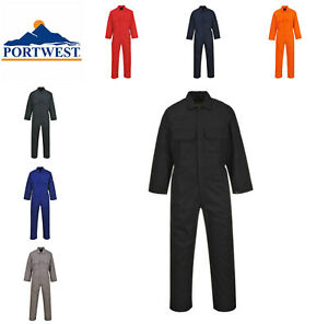 Portwest BizWeld Flame Resistant Coverall Boilersuit Welding XS 5XL BIZ1