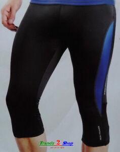 Herren 3/4 Laufhose Jogginghose Trainingshose Laufshorts Sporthose Fitnesshose O