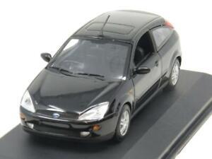 MINICHAMPS-DIECAST-430-087001-Ford-Focus-3-puertas-1998-negro-RHD-1-43-ESCALA-en-Caja