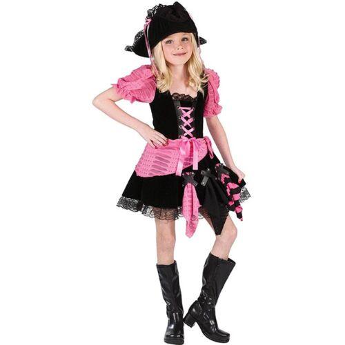 Child Costume Pink Punk Pirate