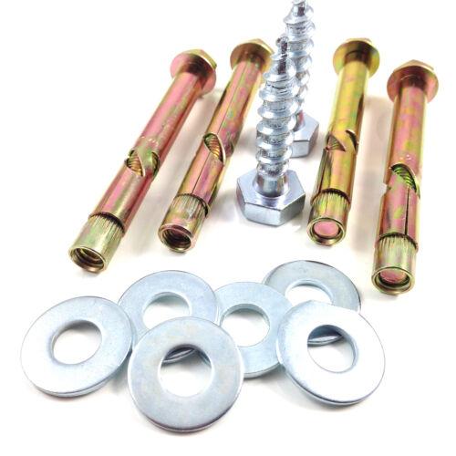 2 Packs de brattonsound//CMP Gun Safe Armoire Fixations pour fixation 2 armoires *