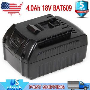 For-Bosch-18V-18-Volt-Max-Li-ion-4-0Ah-Battery-BAT609-BAT618-BAT620-BAT611-NEW