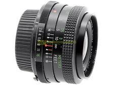 Minolta Wide angle Vivitar 28mm. f2,8 MC Macro focusing. Garanzia 12 mesi.