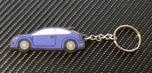 Ford Focus RS Porte-clés Bleu foncé