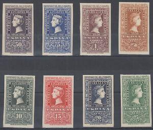 Serie-Centenaire-de-Timbre-1075-1082-Annee-1950-MNH