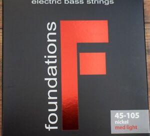 SIT Strings Foundations 4 String Medium Light Nickel Bass Set FN45105L