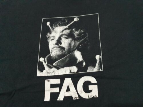 "Vintage The  Flaming Lips ""Acid"" Promo T Shirt  Al"