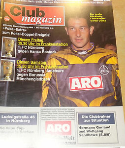 1995/96 DFB Pokal 1.FC Nürnberg/Am - Borussia Mönchengladbach - <span itemprop='availableAtOrFrom'>Jena, Deutschland</span> - 1995/96 DFB Pokal 1.FC Nürnberg/Am - Borussia Mönchengladbach - Jena, Deutschland