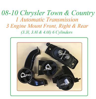 Trans Mount Fit 08-10 Chrysler Town /& Country// Dodge Grand Caravan 3.3//3.8//4.0L