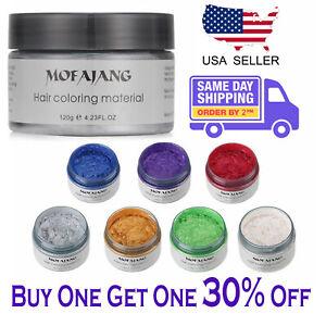 Mofajang-Unisex-DIY-Hair-Color-Wax-Mud-Dye-Cream-Temporary-Modeling-8-Colors