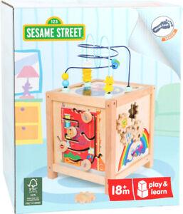 Legler - Cube de compétences motrices de Sesame Street 10974 4020972109743