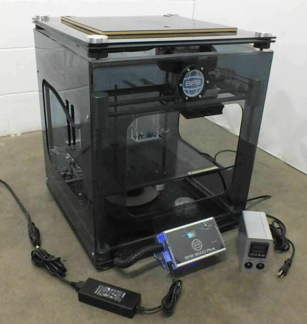 3D Systems 3D Printer with Operations Manual - Prints from SD Card BFB 3000 Plus