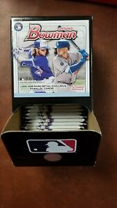 2020-BOWMAN-GRAVITY-FEED-BOX-36-Sealed-Packs-Target-Green-Parallels-Dominguez