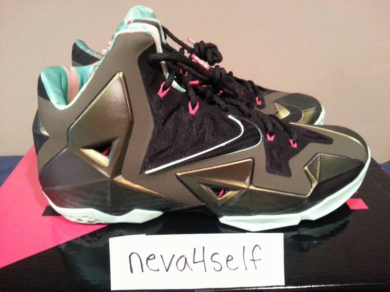 Lebron XI 11 Kings Pride Parachute Gold Comfortable The latest discount shoes for men and women