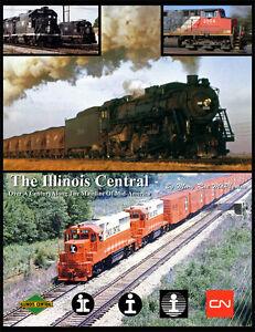 Illinois-Central-385-Photos-On-DVD-With-Detailed-E-Book-19th-Century-to-CN-Era