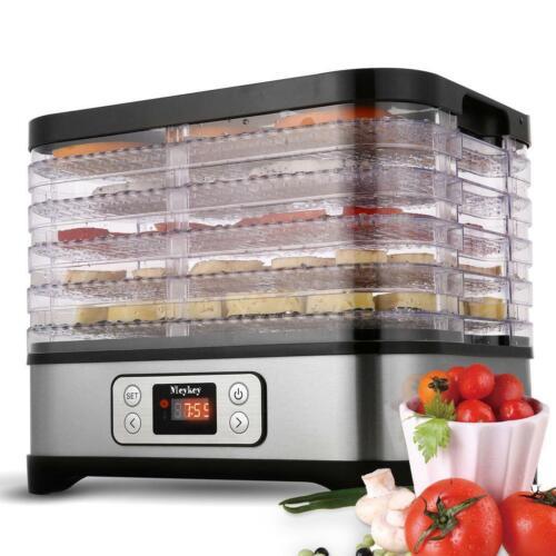 HOMDOX 5-8 Tier Electric Food Dehydrator Machine Fruit Dryer Beef Jerky Herbs US