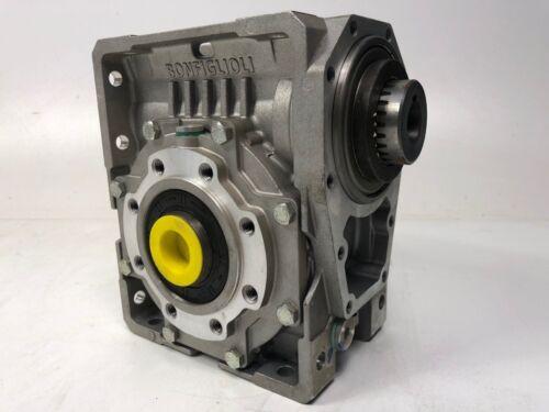 Bonfiglioli W63 U 15.0 P80 B14 B3 Getriebe Schneckengetriebe Gearbox