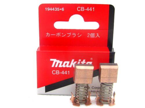 Makita Kohlebürsten CB-441  Original 194435-6 für 4334D BHR241, BHR202 5621RD