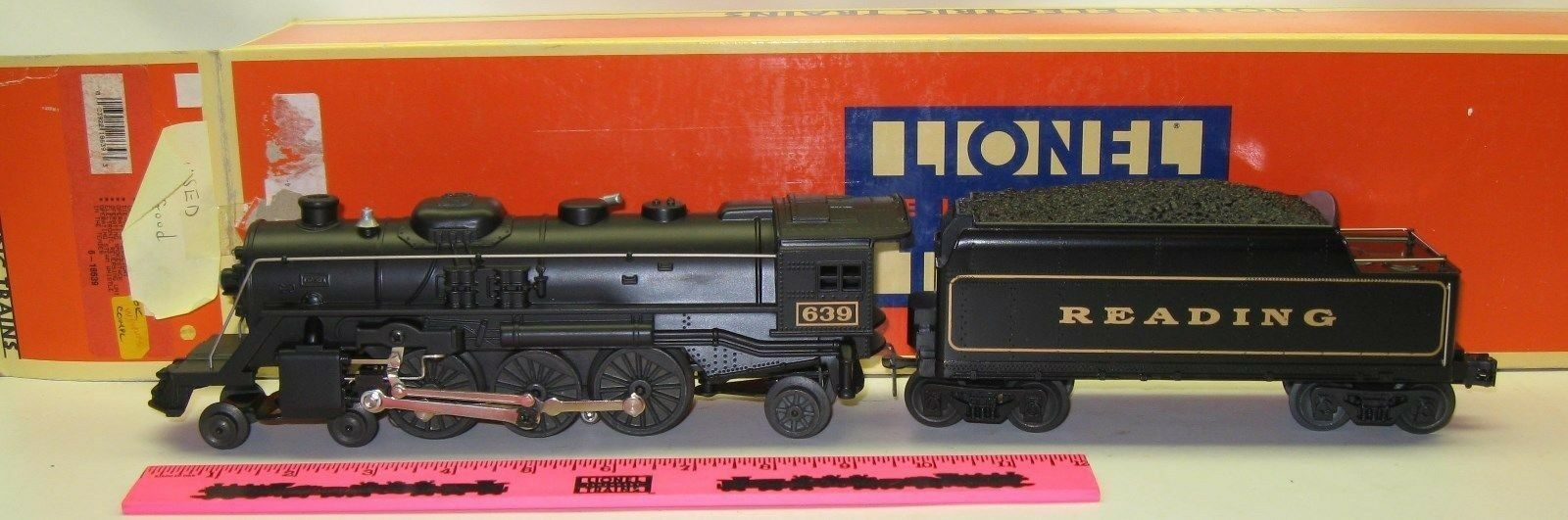 Lionel 6-18639 Reading 4-6-2 Steam Locomotive and Tender