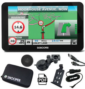 snooper s6900 truckmate pro 7 screen truck satnav. Black Bedroom Furniture Sets. Home Design Ideas