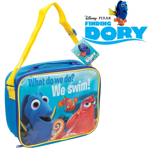 Finding Dory Nemo Kids Lunch Bag Snack Childrens Picnic Cooler Insulated Drinks