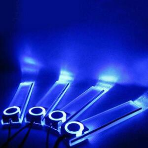 4x-Car-Charge-LED-Interior-Decoration-Fashion-Blue-Light-Floor-Atmosphere-Lamp-X