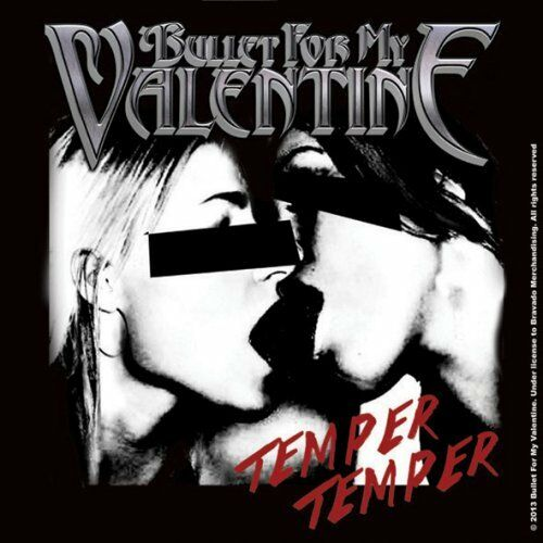 Bullet For My Valentine Temper Temper Single Coaster 10x10cm Ebay