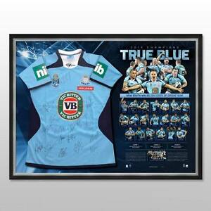 NEW-SOUTH-WALES-NSW-2014-STATE-OF-ORIGIN-TEAM-SIGNED-FRAMED-JERSEY-GALLEN-HAYNE