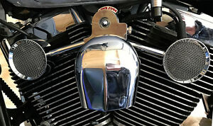 Love Jugs Mighty Mites Chrome V Twin Engine Cooling Fan