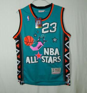 NWT Michael Jordan Chicago Bulls NBA Basketball Jersey Mitchell Ness All Star M