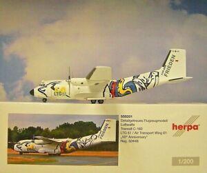 Herpa Wings 1:200 transall c-160 fuerza aérea ltg 61 559201 modellairport 500