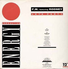 F.M. (FRANCO MOIRAGHI) - Let's Party, Feat. Rodney