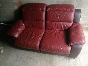 Image Is Loading Electronic Reclining Leather Sofa Cinema Room