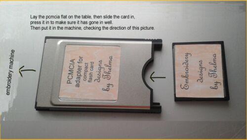 ALPHABET REN CARD jef files janome 300e machine embroidery designs ABC fonts