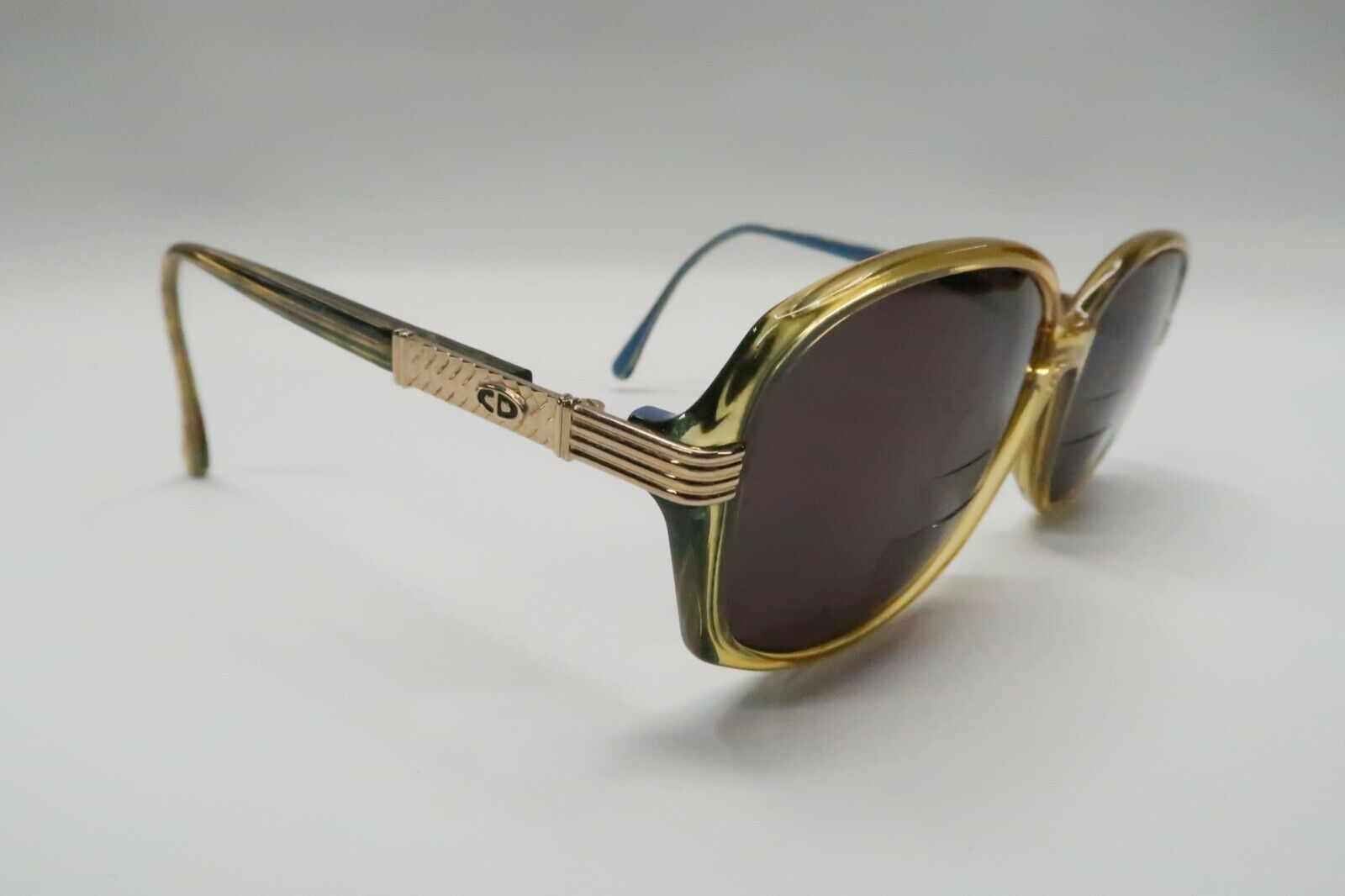 Christian Dior 2745 Rx Sunglasses FRAMES 55[]15-120 Yellow Blue Green A718