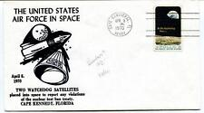 1970 United States Air Force Space Two Watchdog Satellites Cape Kennedy Florida