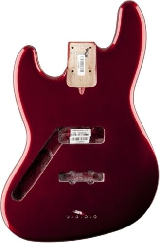 NEW LEFTY Fender American Standard Jazz Bass BODY USA Mystic Red 0998027794