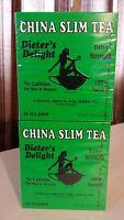 2 China Slim Tea 36 Bags (pack Of 2 Boxes) Total 72 Tea Bags Dieter's Delight